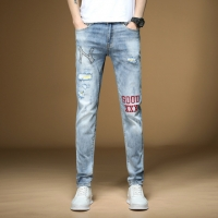 China Ironing Diamond Embroidered Trousers Men Pants Wicking Light Color wholesale