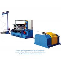 China AluminIum Rod Drawing Machine Single Spooler / Double Spooler Down Coiler Options wholesale
