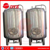 China High Efficiency Small Bright Beer Tanks 2mm Thickness Easy To Operate wholesale