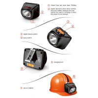 KL4.5LM led underground mining cap lamp /mining helmet light/with charger
