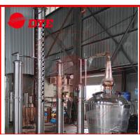 China 2000L Alcohol Still Kits With Water Tank / Stainless Product Condenser wholesale
