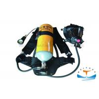 China Firefighter Portable Breathing Apparatus 30 MPa Working Pressure With Steel Cylinder wholesale