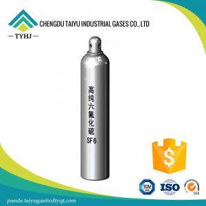 China buy 99.999% Sulphur Hexafluoride Gas SF6 Gas (CAS:2551-62-4) wholesale
