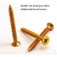 China Coarse Or Fine Thread Chipboard Flooring Screws , Self Tapping Sheet Metal Screws wholesale
