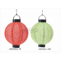 China Eyelet Indoor Paper Lantern Lights , Battery Operated Paper Lanterns For Weddings on sale