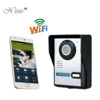 China High Pixel IR Camera Remote Control Access Control System WIFI Video Intercom Video Door Phone System wholesale