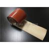 China Waterproof High Performance Silica Fabrics , Silicone Rubber Coated Fiberglass Cloth wholesale