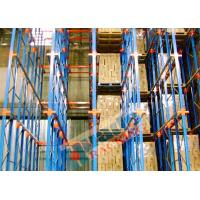 China Channel Type Drive In Racking High Density Storage Racks For Frozen Food Freezers wholesale