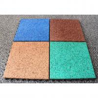 China EPDM Rubber Basketball Court Flooring Odorless Slip Resistant Various Colors Available wholesale