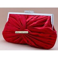 Buy cheap 2012 beautiful satin evening cltuch bag with frame for ladies G20166 from wholesalers