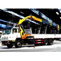 China Truck mounted hydraulic crane 40L / min 8TON  Mobile knuckleboom crane wholesale