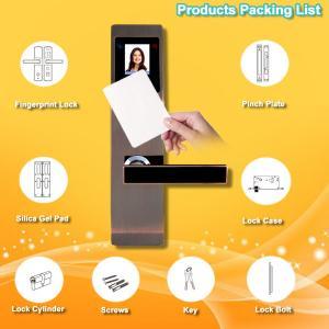 China Anti Scratch RFID Card Door Lock Advanced Identity Technology Long Life Time wholesale