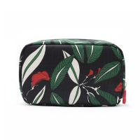 China Personalized Custom Cosmetic Bags ,  Printed Floral Waterproof Travel Toiletry Bag For Women on sale