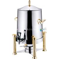 China Stainless Steel coffee urn,cereal dispenser with Burner wholesale