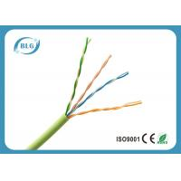 Buy cheap 0.5mm Bare Copper UTP Cat5e Lan Cable For Indoor Use PVC Jacket Weatherproof from wholesalers