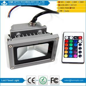 China 10W LED Flood Light RGB ,Led Floodlight , outdoor LED Lighting IP65 wholesale