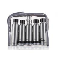 China ODM Cosmetic Travel Bottle Set Aluminum Makeup Small Packaging Personal Care wholesale