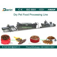 China Twin - screw Pet Food Extruder machine / food extrusion equipment wholesale