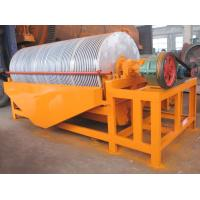 China CT Series Drum Magnetic Separator for Mineral Coal Iron Gold Silica Sand High Efficient on sale