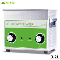 Buy cheap Medical & Dental Lab Stainless Steel Ultrasonic Cleaner Digital Heated 3.2 L With Basket from wholesalers