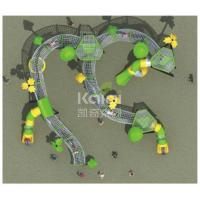 Quality New Children outdoor playground fun climbing with slide park/ Square using for sale