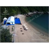 China Aluminum Structure Wedding Decoration Tent , 200 People Wedding Party Tent Rentals wholesale