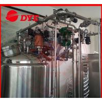 China Automatic Stainless Steel Cip Washing System , Beverage Machinery Gas Heating wholesale
