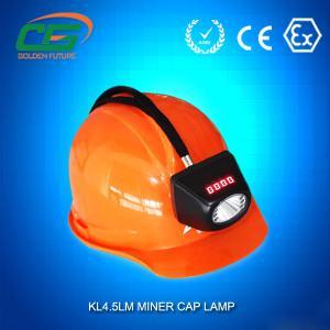 China Cordless Underground LED Mining Lamp IP65 4.5ah Rechargeable wholesale