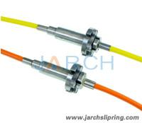 1 Channel FIBER OPTICS ROTARY JOINTS with SC ST LC Connector FIBER OPTIC SLIP RINGS