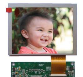 640x480 Lcd Display Panel 250 Luminance , Hd Tft Display 4 / 3 Aspect Ratio
