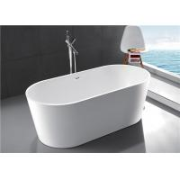 China Compact Acrylic Free Standing Bathtub 1 Person Capacity 2 Years Warranty wholesale