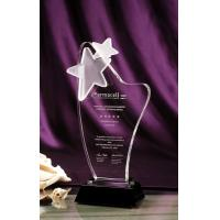 China Star Laser Engraved Sandblast Clear Luster Transparency Custom Acrylic Award For Game wholesale