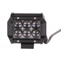China 4 Inch Ip67 18w Vehicle LED Light Bar , CE Off Road Led Car Work Light wholesale
