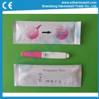 China Best price disposable HCG test urine pregnancy test midstream with CE and FDA wholesale
