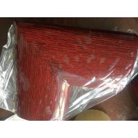 China 45 Degree Aluminum Extrusion Parts Welding Handrail Wooden Color Surface For Vessel And Boat on sale