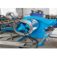 China Full Automatic C Stud Roll Forming Machine 70mm Roller Axis Servo Motor Driving wholesale