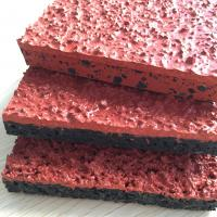 China Athletic Jogging Rubber Sports Flooring For Stadium Surface All Weather Fully Cast wholesale