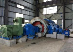 China 2 Reels Width 1.8m 400KW Friction Hoist wholesale