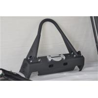 China Aluminum / Steel Jeep Wrangler Front Bumper With Black Powder Coated Steel wholesale