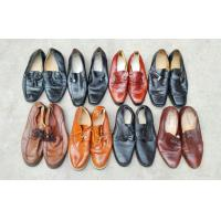 China Grade A Summer Used Men's Shoes Export to Africa , Large Size Second Hand Man Shoes wholesale