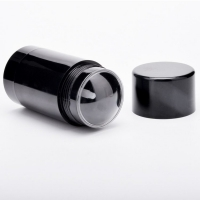 China Black Empty Cosmetic Refillable Deodorant Tubes 30g 50g wholesale