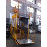 China Operator Cab Construction Material Man And Material Hoist Dual Cage ISO wholesale