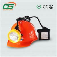 China Bright Industrial Lighting Fixture , Rechargeable Led Safety Miner Cap Lamp wholesale