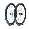 China 2X Rear Hub Full Carbon Road Bike Wheels , 700c 23mm 60mm Carbon Track Wheelset wholesale
