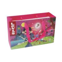 Buy cheap Pretty Paper Shopping Bags , Lady Personalised Paper Bags SGS Approved from wholesalers