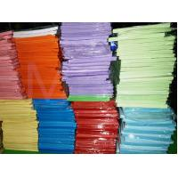 China Double Sided Pastel Colored Copy Paper , Multifunction Coloured Craft Paper For Kids wholesale