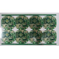 Buy cheap Immersion Gold 2u'' FR4 PCB board 2.0mm Board thickness0.1mm Trace from wholesalers