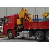 China Durable XCMG Knuckle Boom Truck Mounted Crane 6300kg Safety For Mining Industry wholesale