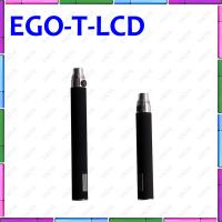 China Ego T LCD 650mAh E Cigarette With Digital Display Puff Counter Ego T E Cigarette on sale