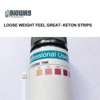 China Visual inspection 10 parameter urine test strips urine ketone test strips, ket , loose weight wholesale